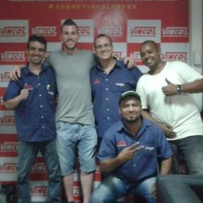 Campeão da libertadores Paulo Vitor também confia seu carro nas mãos da Vincol!