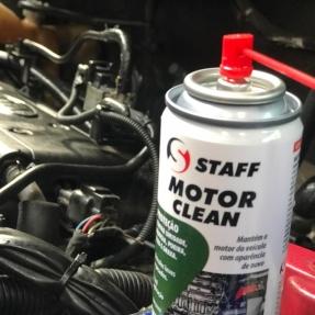 Motor limpo e protegido de umidade com a VINCOL!