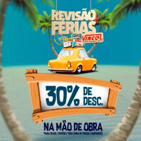REVISÃO DE FÉRIAS VINCOL PNEUS